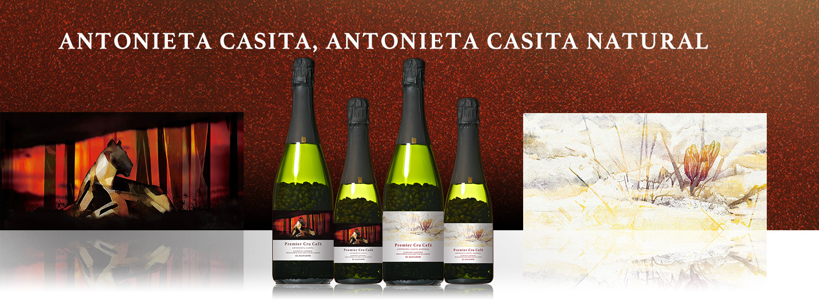 Premier Cru Café ANTONIETA CASITA, ANTONIETA CASITA NATURAL